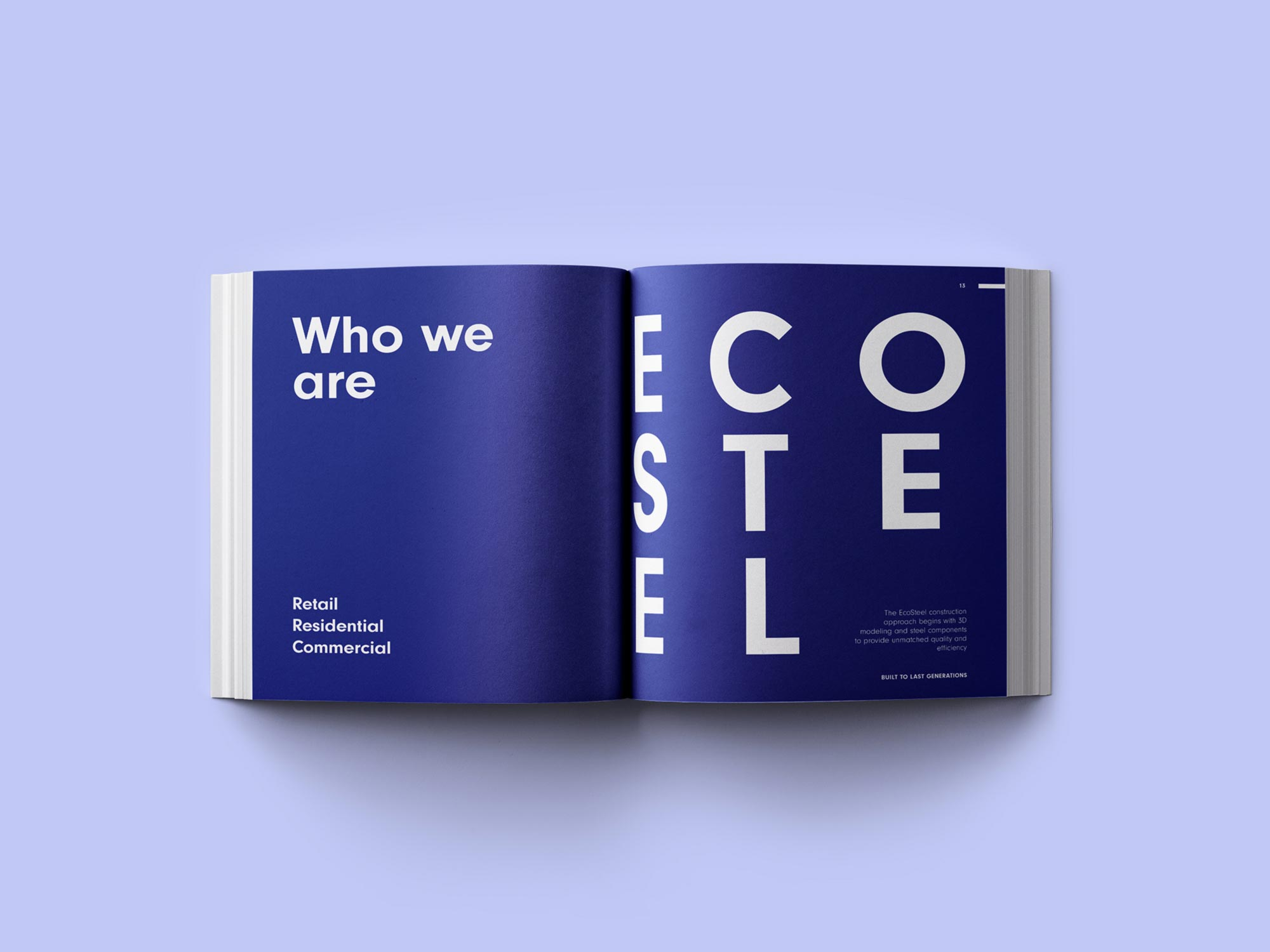 EcoSteel: Who we are page